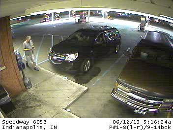 Chevy Equinox 2011-2012 man used stolen card